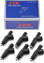 6pcs 4 Holes Replacement Fuel Injectors Engine Part fit for 1989-1998 Jeep Cherokee 1987-1992 Jeep Comanche 1993-1998 Jeep Grand Cherokee 1991-1998 Jeep Wrangler 4.0L 0280155700 OCPTY Fuel Injector