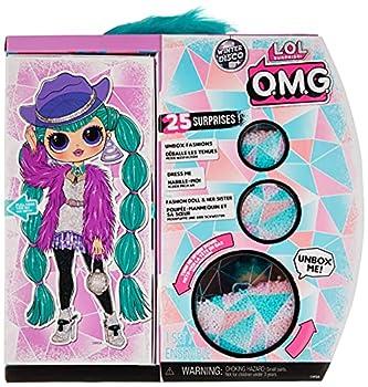 L.O.L Surprise! O.M.G Winter Disco Cosmic Nova Fashion Doll & Sister