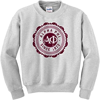 Greekgear Alpha Phi Seal Crewneck Sweatshirt
