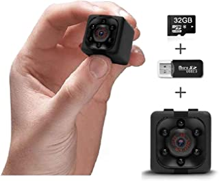 Spy Camera 1080P | Hidden Camera I Cop Cam | Mini Action Secret Camera for Indoor/Outdoor Home Office Car Nanny| Spy Weara...