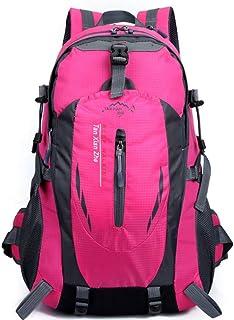 Duffel Bag Fishing Rod Fly Fishing Rod Telescopic Super Long 26FEET/LONG-42FEET/LONG Gym Bag (Color : Pink)