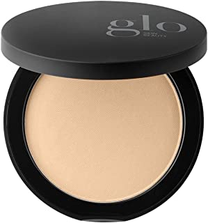 Glo Skin Beauty Pressed Base - Golden Medium | Mineral Pressed Powder Foundation | 24 Shades, Buildable Coverage, Matte Fi...