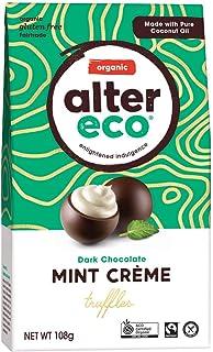 Alter Eco Organic Dark Chocolate Mint Crème Truffles, 108 g