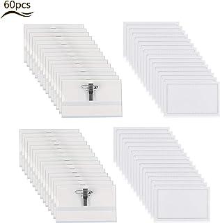 Porta badge orizzontale VICSPORT con lacci confezione da 10 impermeabile