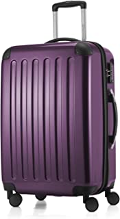 "Hauptstadtkoffer Alex Luggage Suitcase Hardside Spinner Trolley Expandable 24"" TSA, Purple, 65 Centimeters"