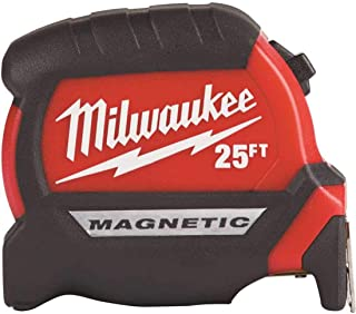 Milwaukee Electric Tool 25Ft Compact Magnetic Tape Mea