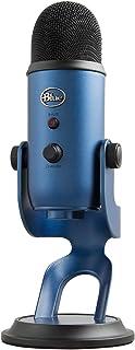 Blue Microphones Yeti USB コンデンサー マイク Midnight Blue イエティ ミッドナイト ブルー BM400MB PC MAC PS4 USB ストリーミング 配信 ストリーマー テレワーク web会議 国内...