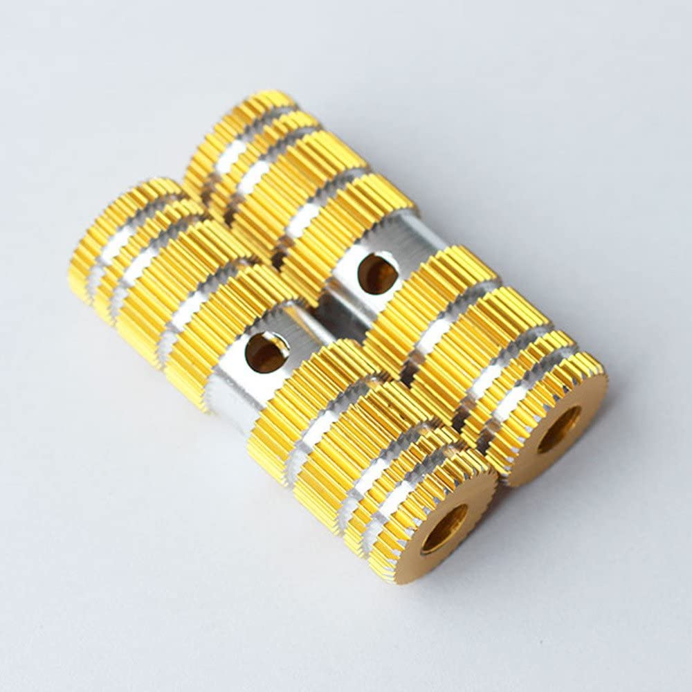 Max 43% OFF 1 Pair of Cylindrical Gear Tooth Design Strong Small Ranking TOP15 Durable Gol