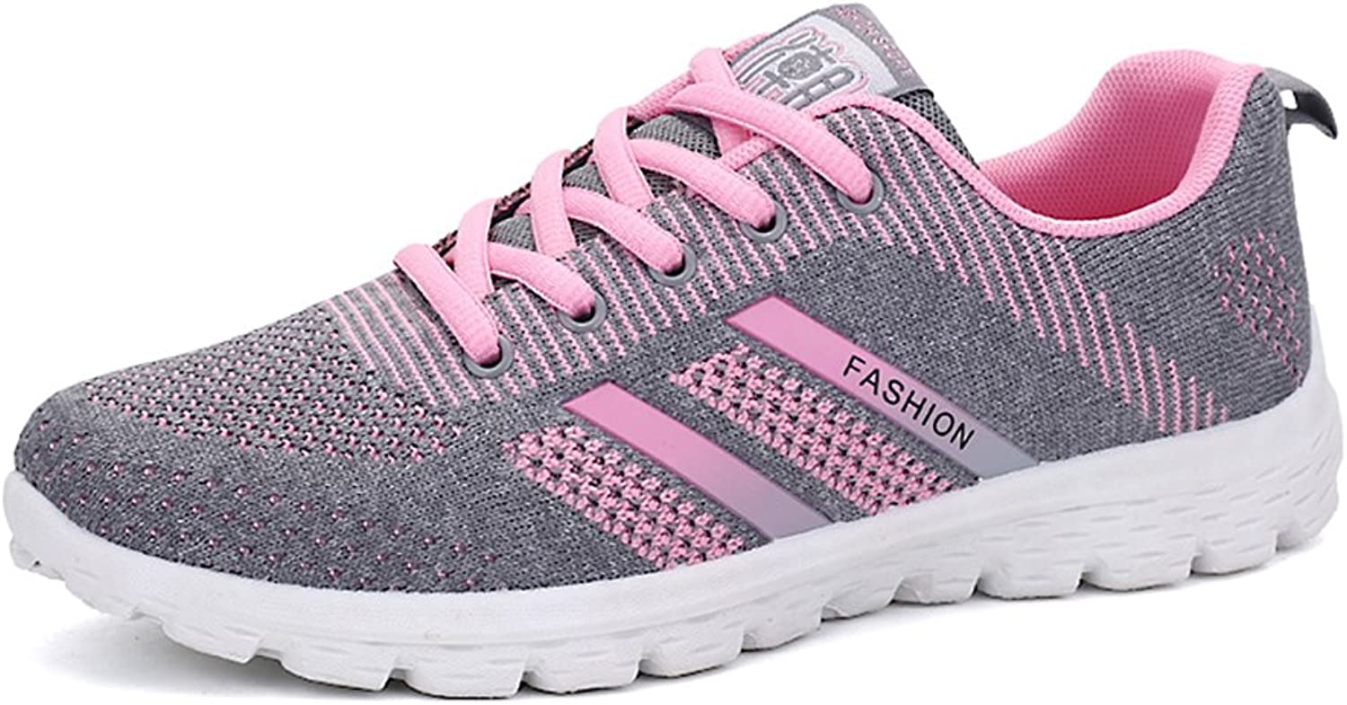 Cooga Women's Knit Mesh Comfy Walking shoes Lighweight Running Sneakers