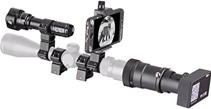 SOLOMARK Night Vision with WIFI Camera and 850nm Flashlight for Rifle Scope Connect to Your Cell Phone Night Outdoor Hunting Optics
