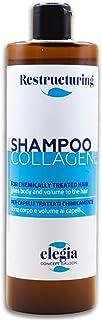 Shampoo Al Collagene Acido Ialuronico e Keratina Volumizza, infoltisce e rivitalizza - Ideale Per Capelli Trattati - 500ml...