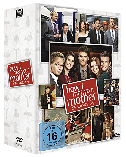 How I Met Your Mother - Seasons 1-9 [27 DVDs]