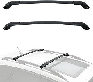 Luggage Rack Cargo Bars Crosstrek 2018-2019 /& Impreza 2012-2019 Crossbars/Side Rails Set Fits for Forester 2014-2019 Seven Sparta Roof Rack for Subaru Forester