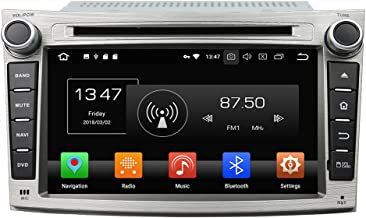 KUNFINE Android 9.0 Otca Core 4GB RAM Car DVD GPS Navigation Multimedia Player Car Stereo for Subaru Legacy/Outback 2009 2010 2011 2012 Steering Wheel Control 3G WiFi Bluetooth Free Map Update