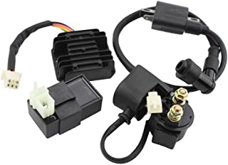Annpee Ignition Coil AC CDI Voltage Regulator Rectifier Relay Kit for CG150cc 200cc 250cc Vertical Engine Chinese ATV