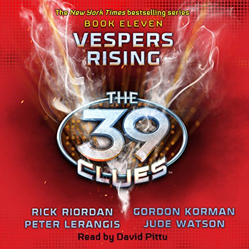 Vespers Rising audiobook cover art