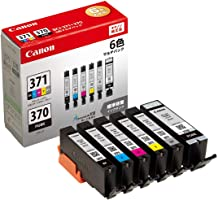 Canon 正品 墨盒 BCI-371(BK/C/M/Y/GY)+370 6色组合包 BCI-371+370/6MP