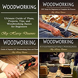 Woodworking: Ultimate Guide of Plans, Projects, Tips, and Woodworking Basics for Beginners                   By:                                                                                                                                 Harry Deavers                               Narrated by:                                                                                                                                 Jason Burkhead                      Length: 3 hrs and 31 mins     50 ratings     Overall 4.2