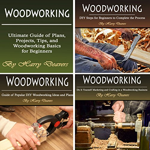 Woodworking: Ultimate Guide of Plans, Projects, Tips, and Woodworking Basics for Beginners cover art