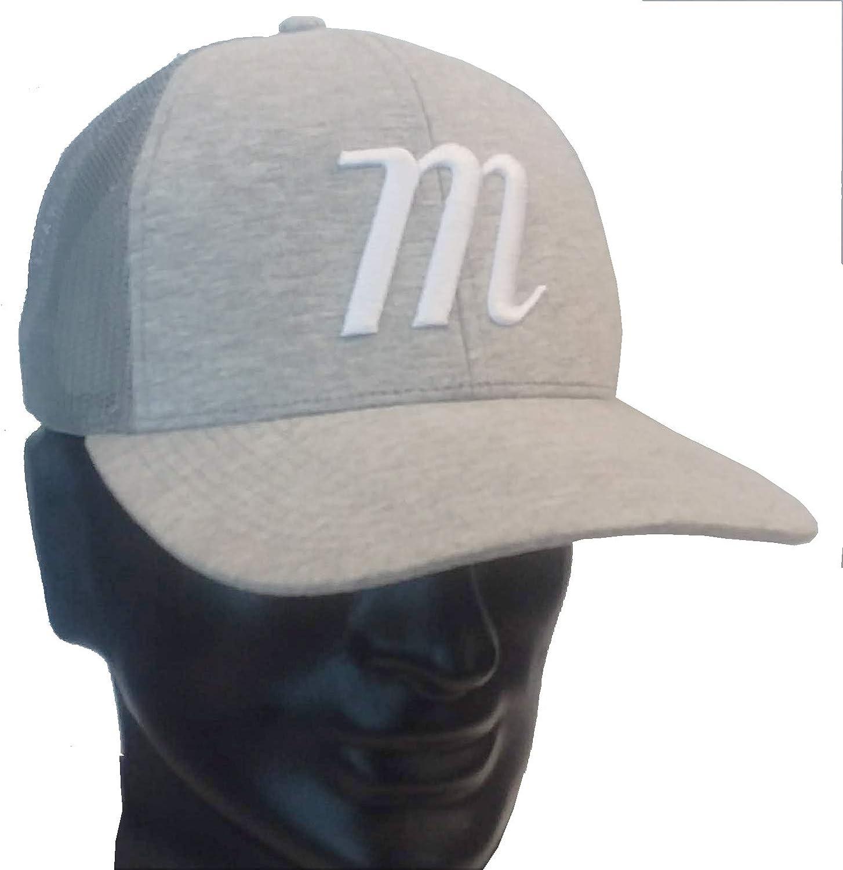 Marucci Sports - M Trucker Snapback Gray/Gray, Gray/Gray, Adult, Hats, Men's Apparel (MAHTTRP-GY/GY-A)