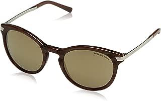 Michael Kors Adrianna III MK2023 Sunglasses 31905A-53 - Pearl Grey Frame, Bronze Mirror