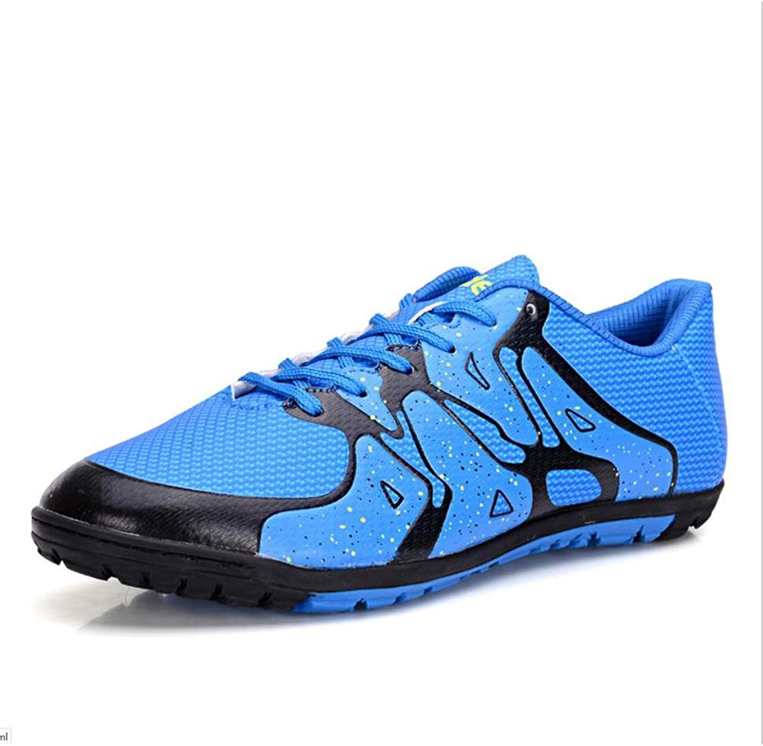 Men's Soccer shoes Personalityn Soccer Cleats Football Boots Football Soccer Anti-Slip,Low-Top Women's Sneakers,Comfort,Short Spike Training shoes (color   C, Size   41)
