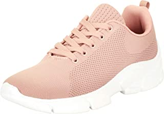 Cambridge Select Women's Low Top Lightweight Knit Lace-Up Casual Sport Fashion Sneaker