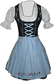 light blue dirndl
