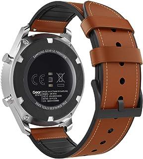 MoKo Band kompatibelt med Samsung Gear S3/Gear S3 Classic/Galaxy Watch 46 mm/Gear S3 Frontier/Gear 2 R380/Neo R381, premiu...