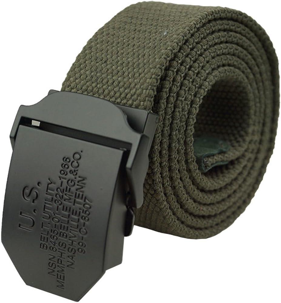 Gardening Spring Men's Thicken Canvas Belt Adjustable Waist Belt Outdoors Belt 43