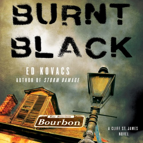 Burnt Black audiobook cover art