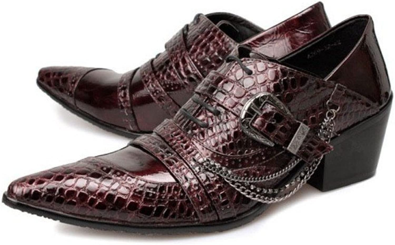 Cover Plus 3 color Fashion Leather Lace Up Casual Dress Designer Oxford Mens shoes