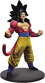 Super Saiyan 4 Son Goku: 20cm Banpresto Blood of Saiyans Statue Figurine & 1 D.B. Trading Card Bundle Special III (39342)