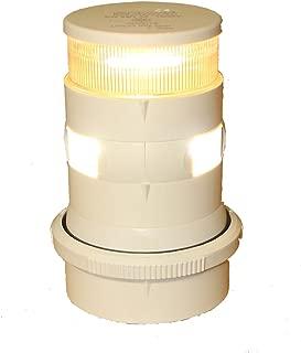 Aqua Signal Masthead/Anchor LED Navigation Light with White Housing