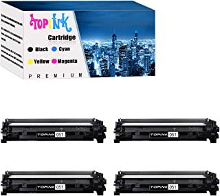 TopInk Replacement for Canon imageCLASS MF264dw Printer Toner Cartridge High Yield-4 Pack