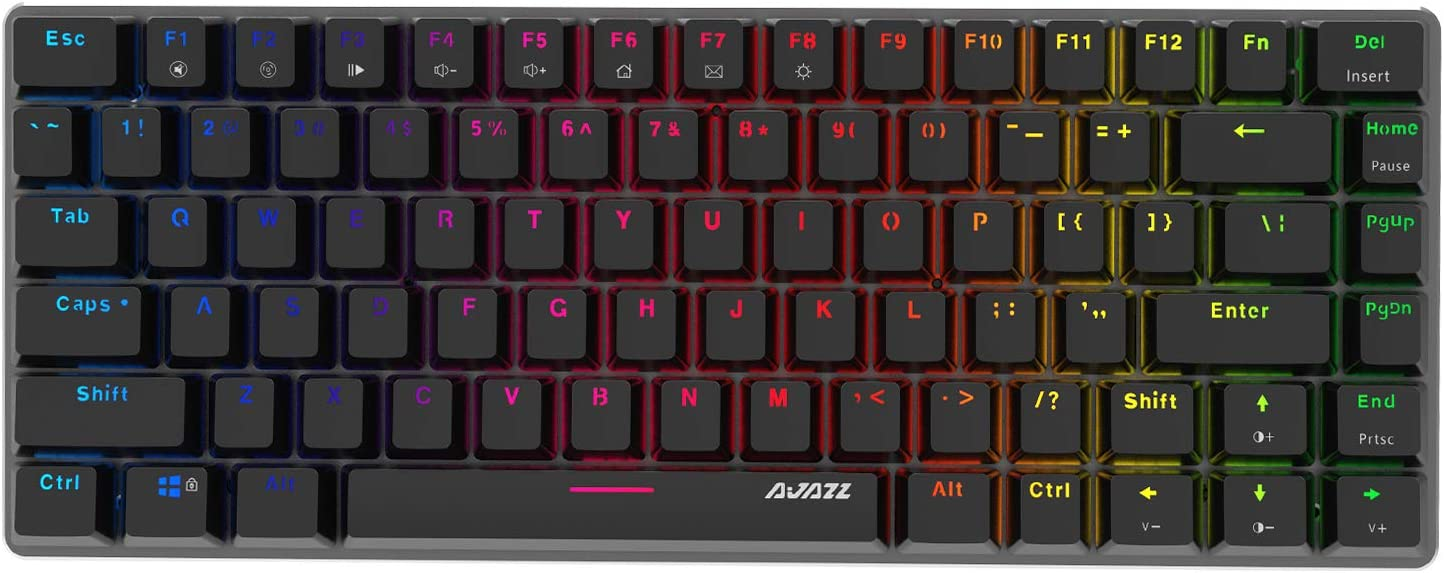 Ajazz AK33 Geek RGB 75% Mechanical Gaming Keyboard