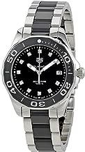 Tag Heuer Aquaracer Black Dial Diamond Ladies Watch WAY131C.BA0913