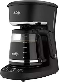 آقای قهوه® قهوه ساز قابل برنامه ریزی با 12 فنجان ، اکنون یا دم کنید