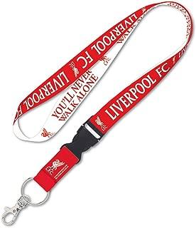 WinCraft English Premier League Liverpool Premium Lanyard Key Chain You'll Never Walk Alone