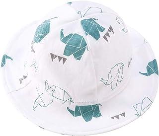 pureborn Baby Bucket Hat Infant Boys Girls Cotton Breathable Sun Hat