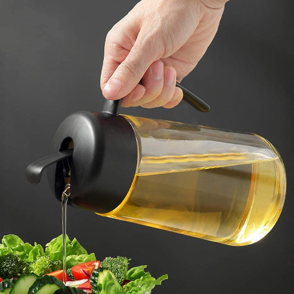 Olive Oil Dispenser Bottle Cheap bargain Leakproof with Glass Container N Raleigh Mall