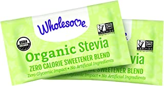 Wholesome Sweeteners Organic Stevia Packets, 1000 Count, 1 Case