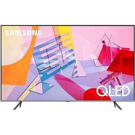 """Samsung TV QE55Q64TAUXZT Serie Q60T Modello Q64T QLED Smart TV 55"""", con Alexa integrata, Ultra HD 4K, Wi-Fi, Silver, 2020, Esclusiva Amazon"""