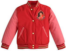 Disney Elena of Avalor Varsity Jacket for Girls - Red