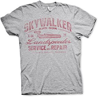 Official Star Wars Skywalker Landspeeder Repair Shop T Shirt