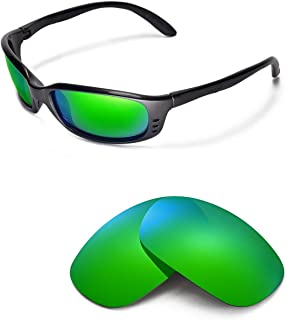 Walleva Replacement Lenses for Costa Del Mar Brine Sunglasses - Multiple Options Available