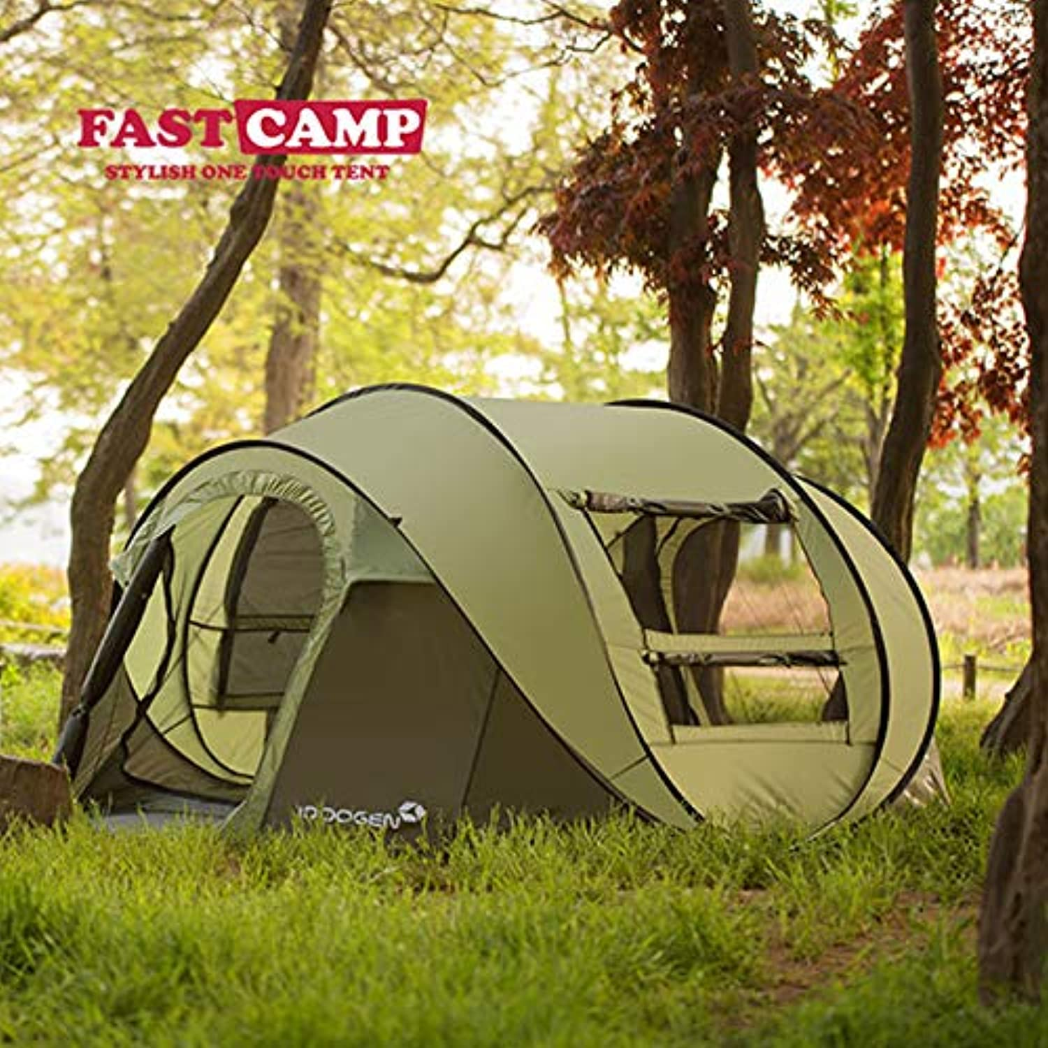FASTCAMP Large Canopy Tent [People] Users Outside Weatherproof Tent Camping Camping Park Set up Free Exposure