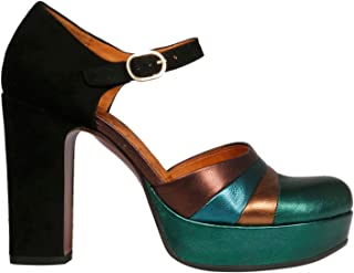 Chie Mihara Luxury Fashion Womens BANANBRONCE Multicolor Heels | Fall Winter 19