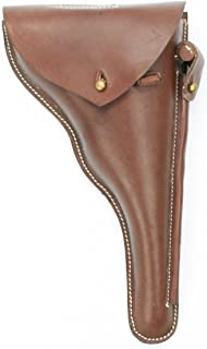 German WWI Navy Luger P04 Brown Leather Holster