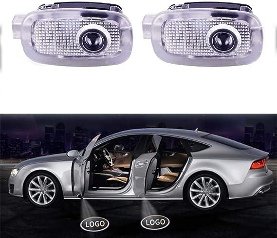 Acptxvh Auto Tür Projektor Licht Hd Led Laser Logo Glühlampe Willkommenes Licht Für W221 Benz S Klasse Amg S500 S350 S63 S65 Autozubehör Weiß Küche Haushalt